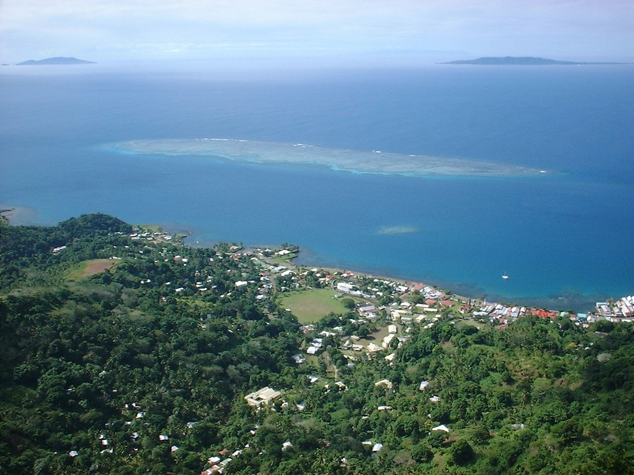 Levuka, view from the Peak