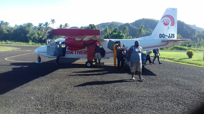 getting to levuka with northern air